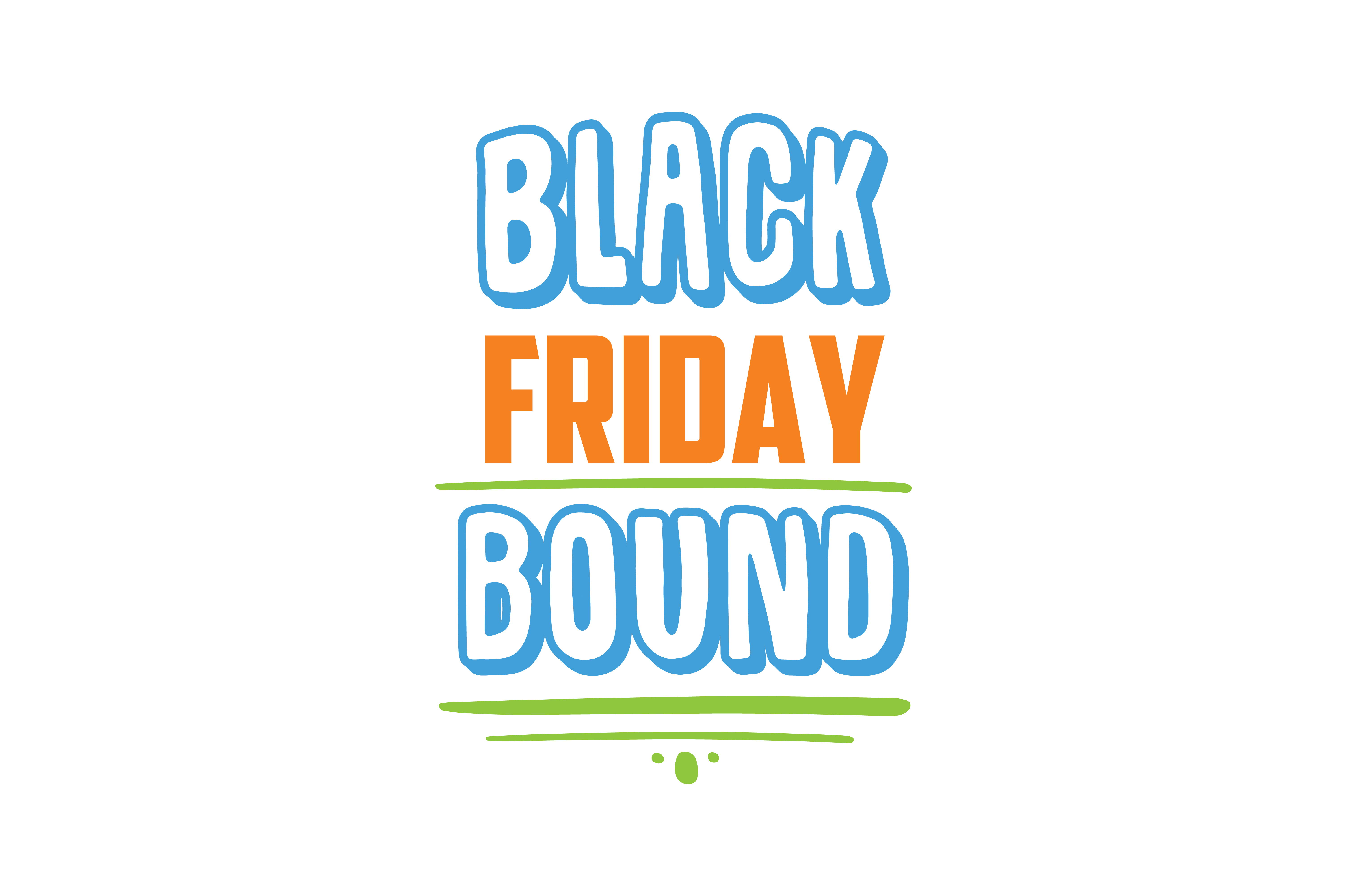 Download Free Black Friday Bound Quote Svg Cut Graphic By Thelucky Creative for Cricut Explore, Silhouette and other cutting machines.