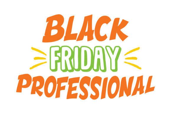 Print on Demand: Black Friday Professional Quote SVG Cut Graphic Crafts By TheLucky