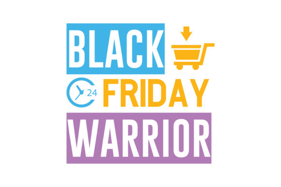 Print on Demand: Black Friday Warrior Quote SVG Cut Graphic Crafts By TheLucky