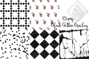 Black Gothic Overlay Clipart Graphic By fantasycliparts