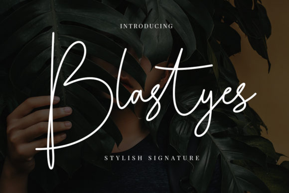 Print on Demand: Blastyes Script & Handwritten Font By CreatypeStudio