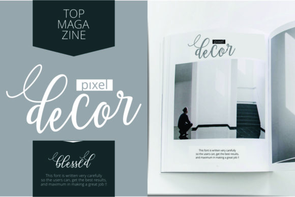 Print on Demand: Blessed Script & Handwritten Font By Musafir LAB - Image 8