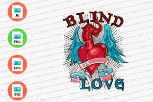 Download Free Blind Lover Graphic By Skull And Rose Creative Fabrica for Cricut Explore, Silhouette and other cutting machines.