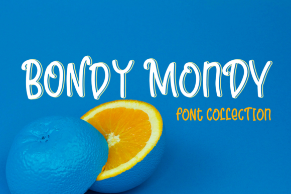 Print on Demand: Bondy Mondy Family Display Font By Pasha Larin