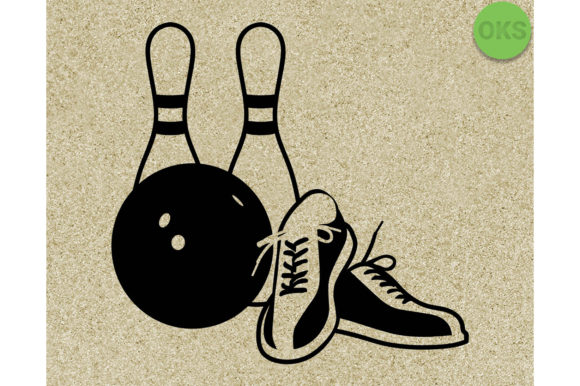 Print on Demand: Bowling Graphic Crafts By CrafterOks