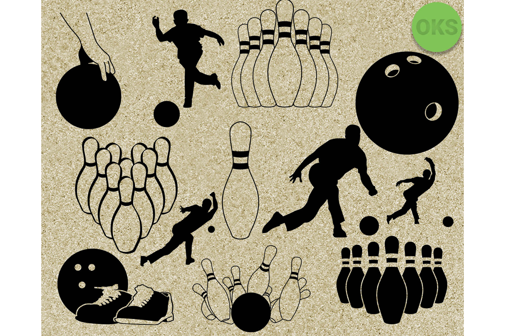 Download Free Bowling Graphic By Crafteroks Creative Fabrica SVG Cut Files