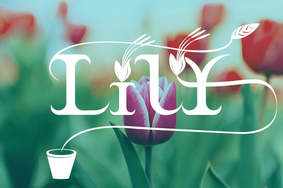Print on Demand: Braxica Lily Display Font By Black Lotus - Image 6