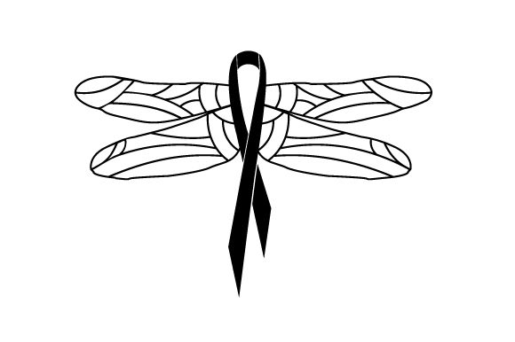 Download Free Breast Cancer Dragonfly Svg Cut File By Creative Fabrica Crafts for Cricut Explore, Silhouette and other cutting machines.