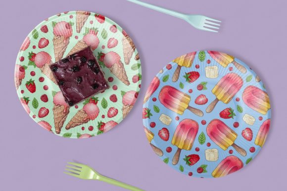 Print on Demand: Bright Sweets Graphic Illustrations By nicjulia - Image 5