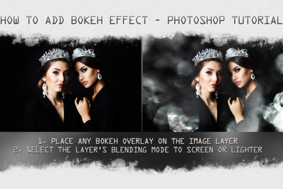 Bright Bokeh Photo Overlays Graphic Layer Styles By 2SUNS - Image 3