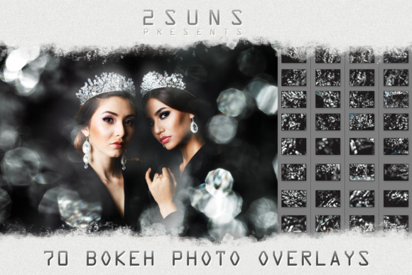 Bright Bokeh Photo Overlays Graphic Layer Styles By 2SUNS