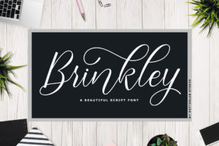 Brinkley Font By rotterlabstudio