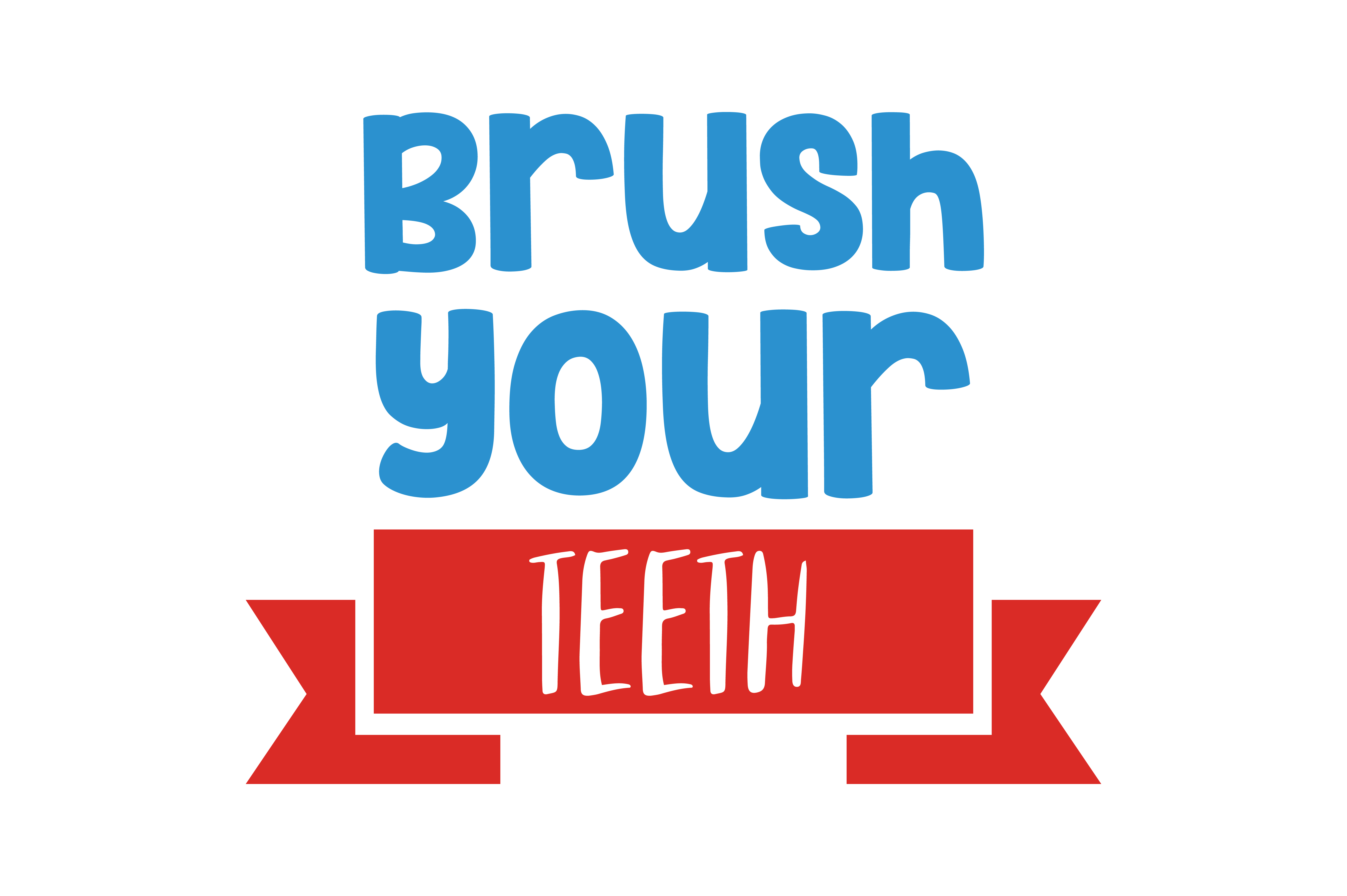 Download Free Brush Your Teeth Quote Svg Cut Graphic By Thelucky Creative for Cricut Explore, Silhouette and other cutting machines.