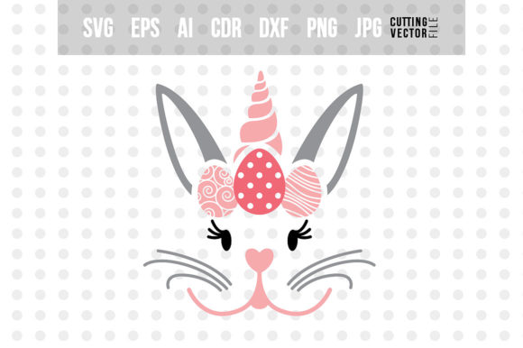 Bunny Unicorn Graphic Crafts By danieladoychinovashop