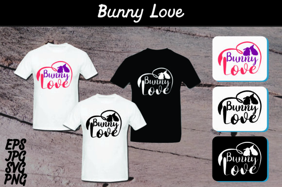 Download Free Bunny Love Set Svg Vector Image Graphic By Arief Sapta Adjie for Cricut Explore, Silhouette and other cutting machines.