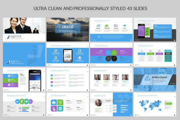 Print on Demand: Business PowerPoint Presentation Graphic Presentation Templates By ContestDesign - Image 2