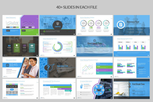 Print on Demand: Business PowerPoint Presentation Graphic Presentation Templates By ContestDesign - Image 3