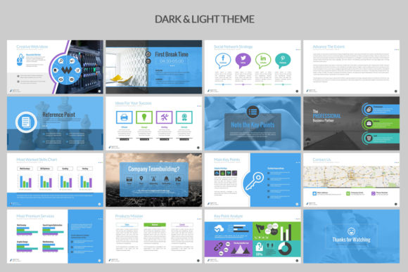 Print on Demand: Business PowerPoint Presentation Graphic Presentation Templates By ContestDesign - Image 4
