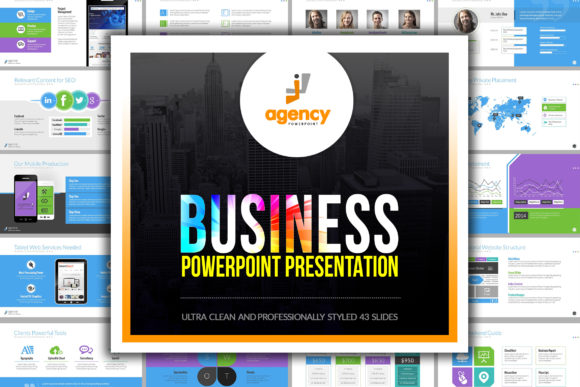 Print on Demand: Business PowerPoint Presentation Graphic Presentation Templates By ContestDesign - Image 1