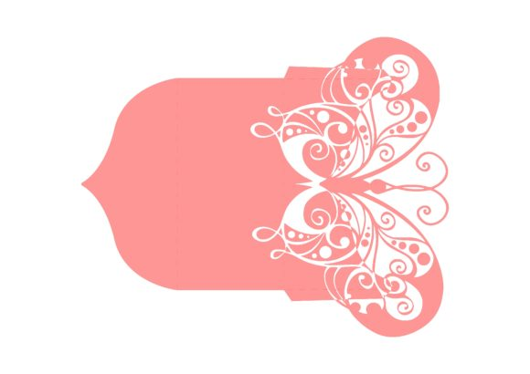 Download Free Butterfly Envelope Graphic By Jgalluccio Creative Fabrica for Cricut Explore, Silhouette and other cutting machines.