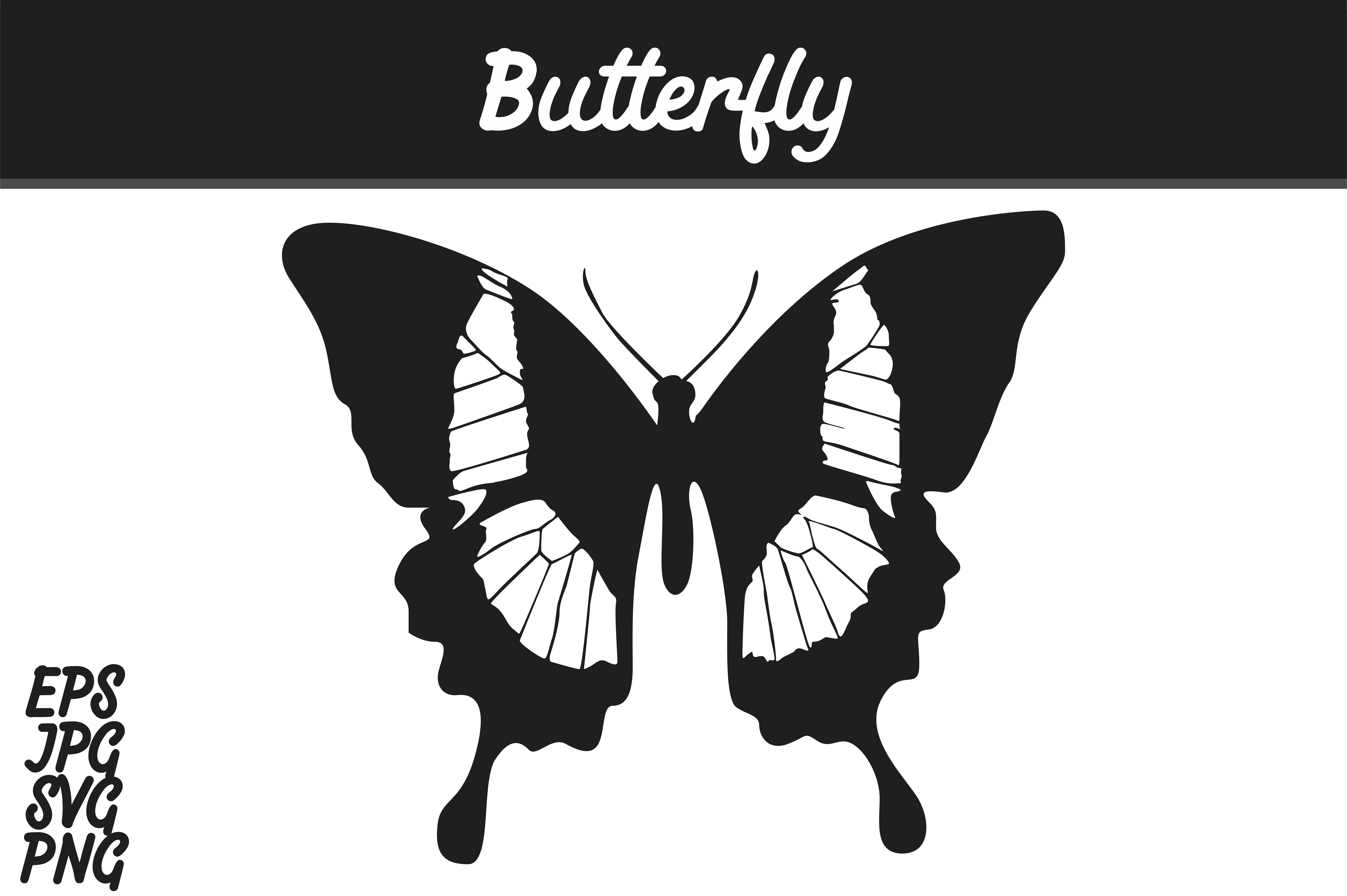 Download Free Butterfly Silhouette Svg Vector Image Graphic By Arief Sapta for Cricut Explore, Silhouette and other cutting machines.