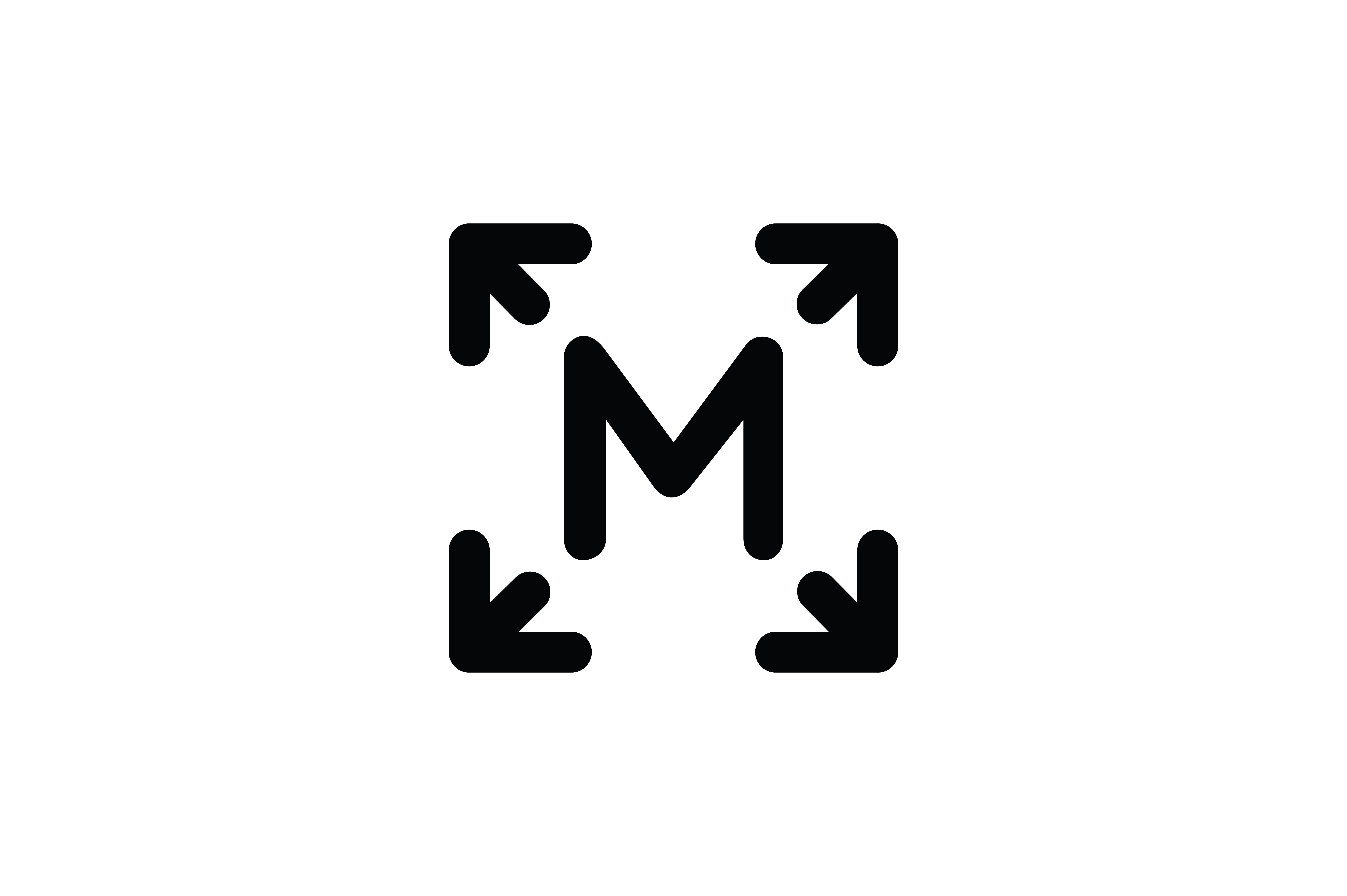 Download Free Button M On The Keyboard Icon Graphic By Newicon Creative Fabrica for Cricut Explore, Silhouette and other cutting machines.