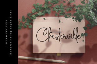 Chesterville Font By InDhika