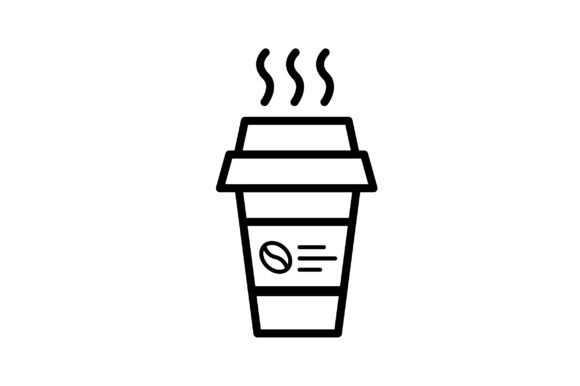 Download Free Coffee Icon Graphic By Arus Creative Fabrica for Cricut Explore, Silhouette and other cutting machines.