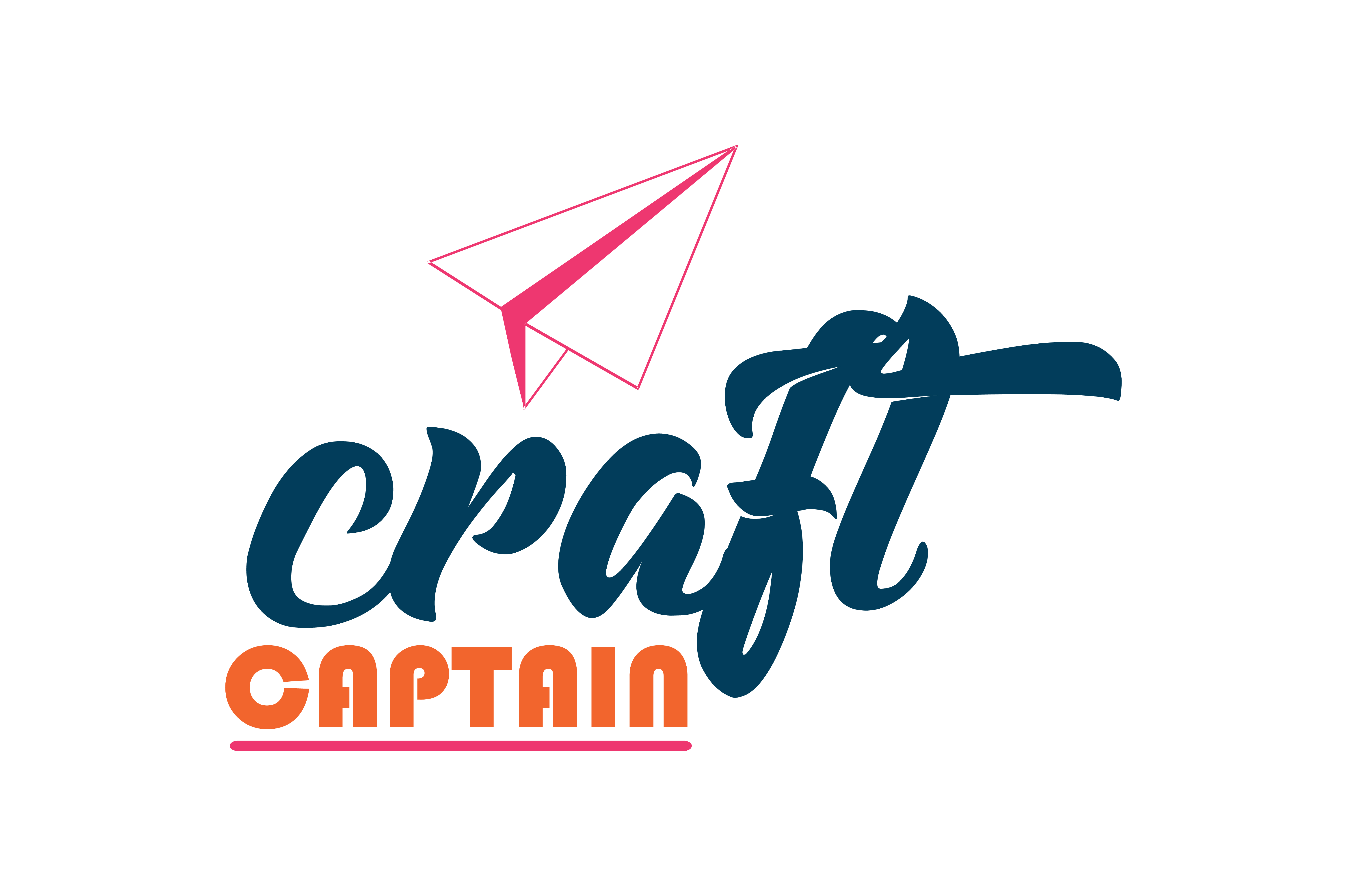 Download Free Craft Captain Quote Svg Cut Graphic By Thelucky Creative Fabrica for Cricut Explore, Silhouette and other cutting machines.