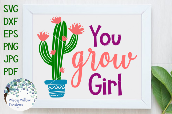 Cactus Bundle Graphic Crafts By WispyWillowDesigns - Image 6