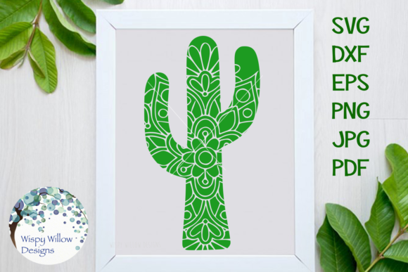 Cactus Bundle Graphic Crafts By WispyWillowDesigns - Image 5