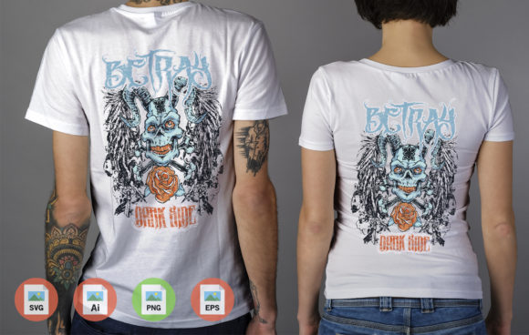 Camiseta Betray Dark Ride No Elo7 Graphic Illustrations By Skull and Rose