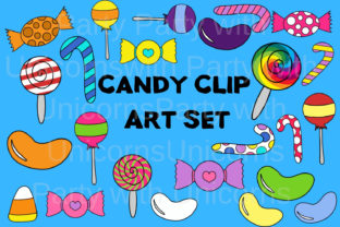 Download Free Candy Clipart Graphic By Party With Unicorns Creative Fabrica for Cricut Explore, Silhouette and other cutting machines.