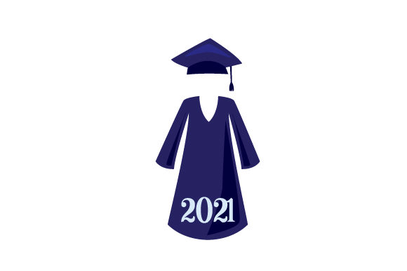 Emu Graduation 2020.Cap And Gown In A Navy Blue Color 2020