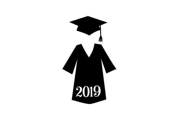 Download Free Cap And Gown In A Navy Blue Color 2020 Svg Cut File By Creative for Cricut Explore, Silhouette and other cutting machines.