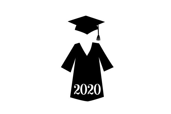 Download Free Cap And Gown In A Navy Blue Color 2021 Svg Cut File By Creative for Cricut Explore, Silhouette and other cutting machines.