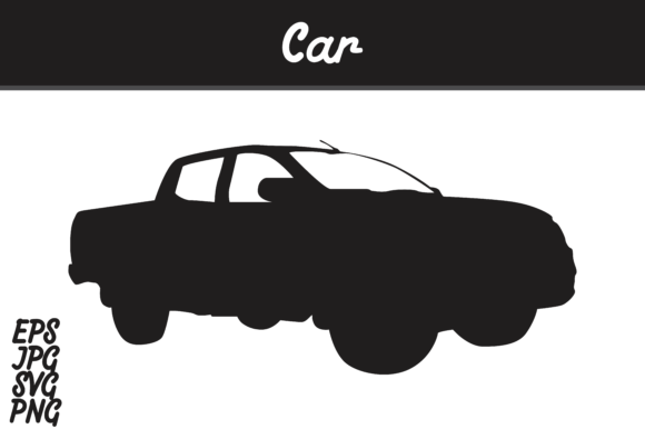 Download Free Car Silhouette Svg Vector Image Graphic By Arief Sapta Adjie for Cricut Explore, Silhouette and other cutting machines.