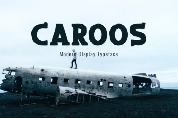 Print on Demand: Caroos Display Font By Instagram Fonts