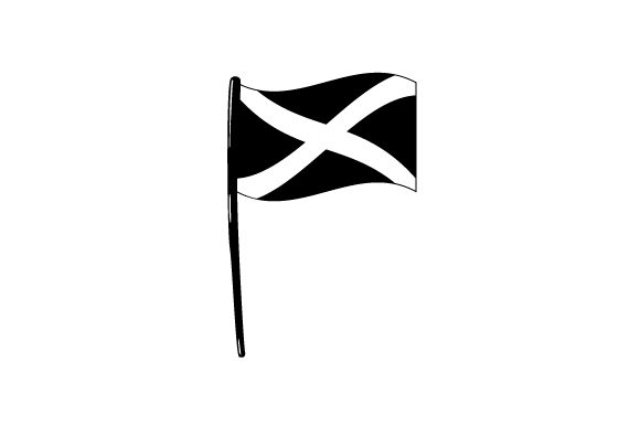 Download Free Cartoon Scottish Flag Svg Cut File By Creative Fabrica Crafts for Cricut Explore, Silhouette and other cutting machines.
