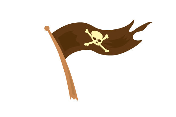 Cartoon Pirate Flag Svg Cut File By Creative Fabrica Crafts