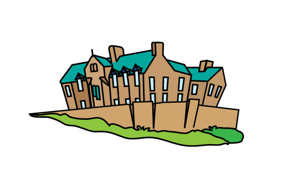 Cartoon Scottish Castle Scotland Craft Cut File By Creative Fabrica Crafts