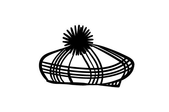 Download Free Cartoon Scottish Hat Svg Cut File By Creative Fabrica Crafts for Cricut Explore, Silhouette and other cutting machines.