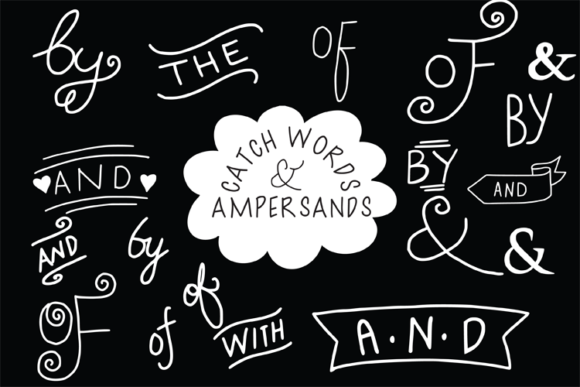 Catch Words and Ampersands Graphic Illustrations By carrtoonz