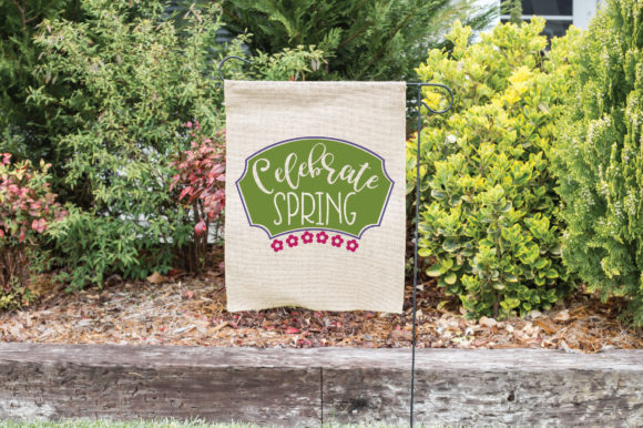 Celebrate Spring SVG Cut File Graphic By oldmarketdesigns Image 2