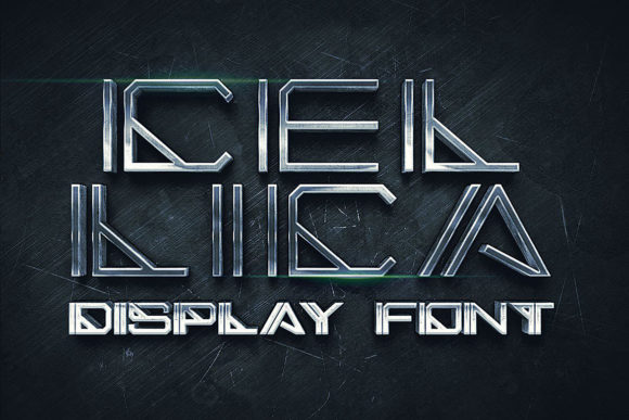 Cellica - Display Font Display Font By JumboDesign
