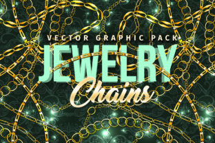 Chains Jewelry Graphics Pack Graphic Brushes By ilonitta.r