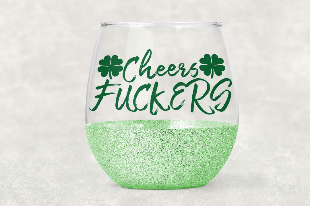 Download Free Cheers Fuckers Graphic By Summerssvg Creative Fabrica for Cricut Explore, Silhouette and other cutting machines.