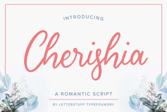 Print on Demand: Cherishia Script & Handwritten Font By herbanuts