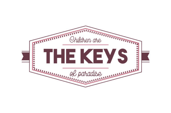 Download Free Children Are The Keys Of Paradise Quote Svg Cut Graphic By for Cricut Explore, Silhouette and other cutting machines.