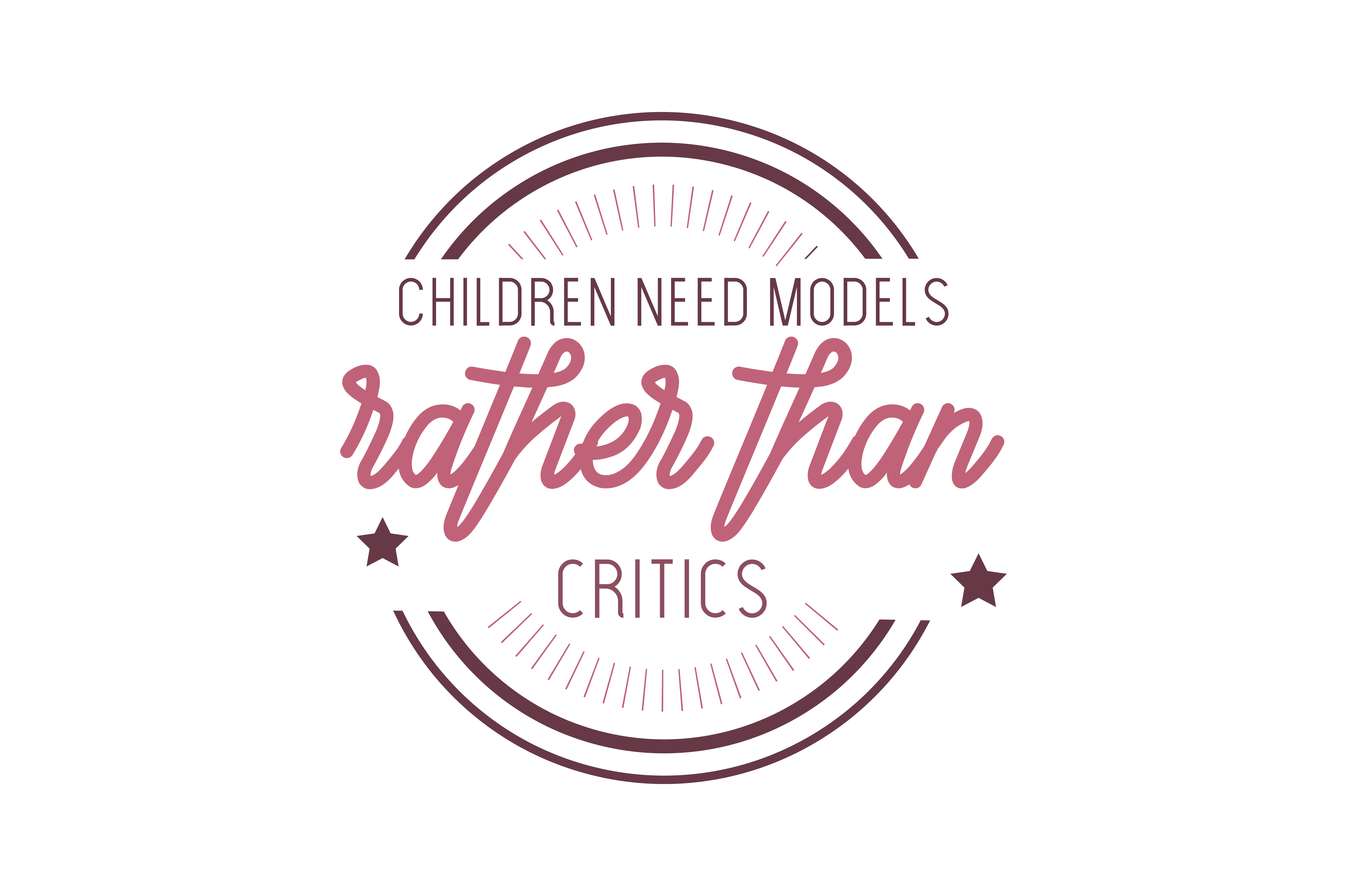 Download Free Children Need Models Rather Than Critics Quote Svg Cut Graphic for Cricut Explore, Silhouette and other cutting machines.